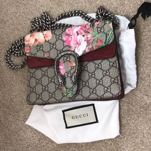 Dionysus GG Blooms mini bag